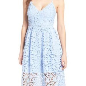 Chic Wish Floral Cut Out Dress XS